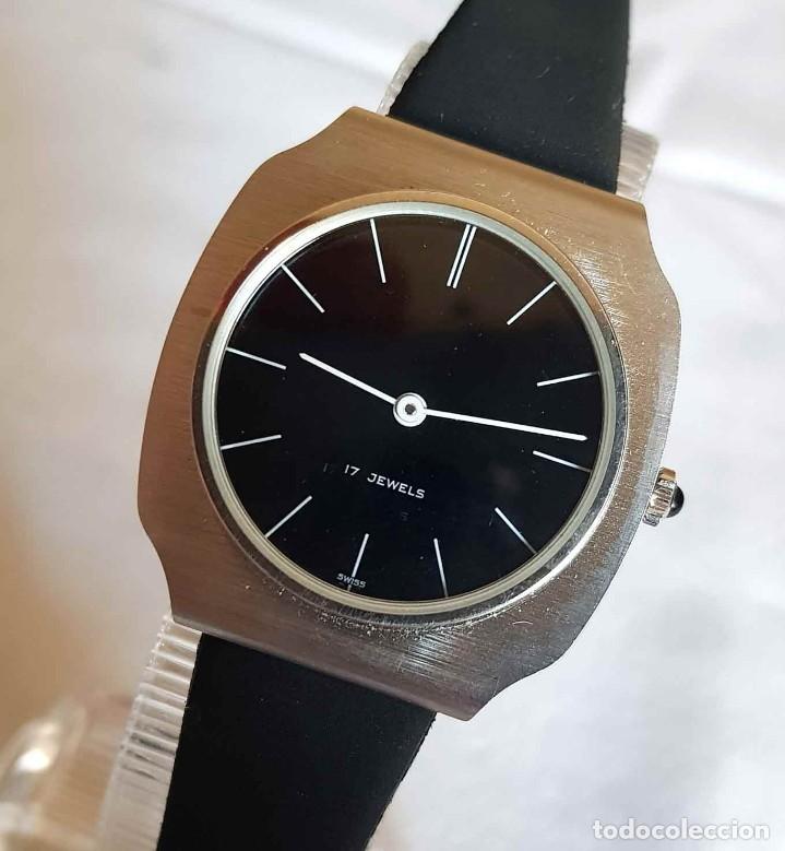 Relojes de pulsera: RELOJ DE CUERDA C1970, Swiss made, Vintage, nuevo - Foto 2 - 161741238
