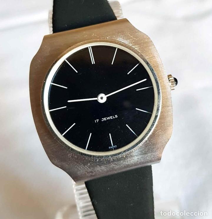 Relojes de pulsera: RELOJ DE CUERDA C1970, Swiss made, Vintage, nuevo - Foto 3 - 161741238