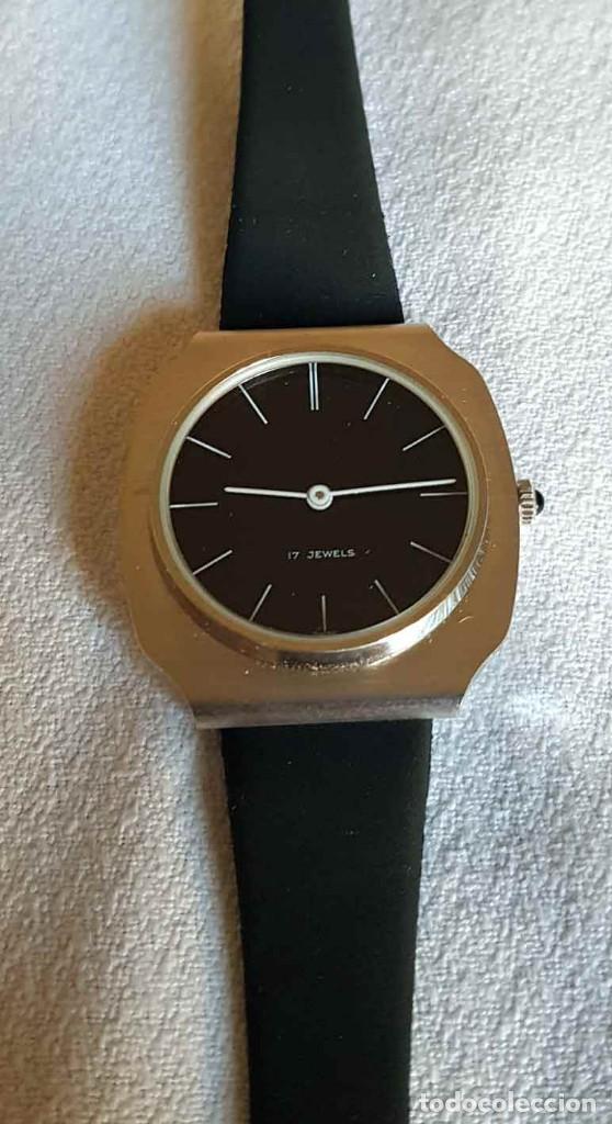 Relojes de pulsera: RELOJ DE CUERDA C1970, Swiss made, Vintage, nuevo - Foto 5 - 161741238