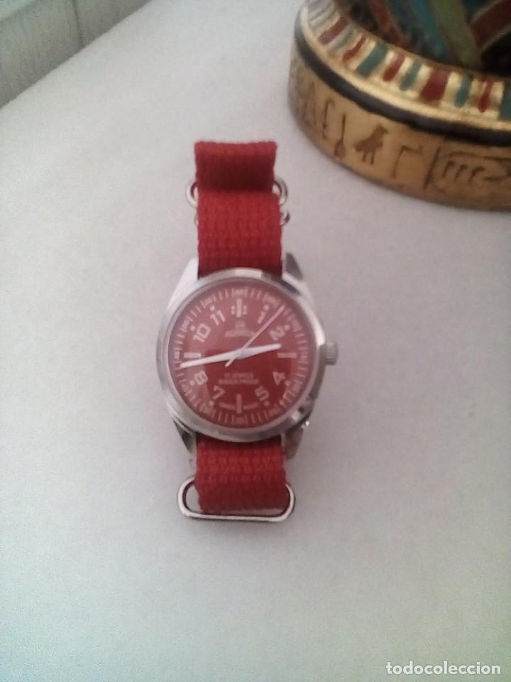 Relojes de pulsera: VINTAGE RELOJ ROAMER DEPORTIVO SUIZO NUEVO CUERDA. - Foto 2 - 161759618