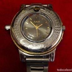Relojes de pulsera: RELOJ MECHERO DE PULSERA MARCA AAA CARGA MANUAL. Lote 161934806
