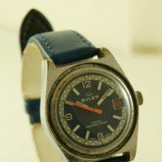 Relojes de pulsera: BULER TIPO DIVER MECANICO FUNCIONANDO. Lote 162343390
