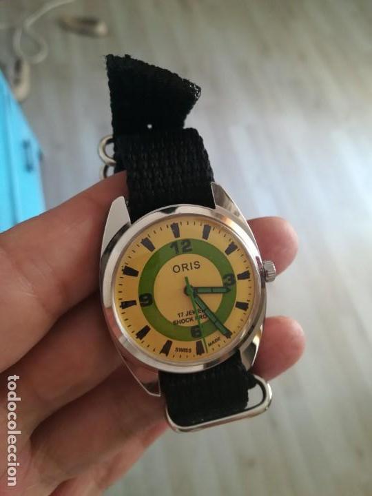 Relojes de pulsera: VINTAGE RELOJ ORIS DEPORTIVO SUIZO NUEVO CUERDA. - Foto 3 - 162357790