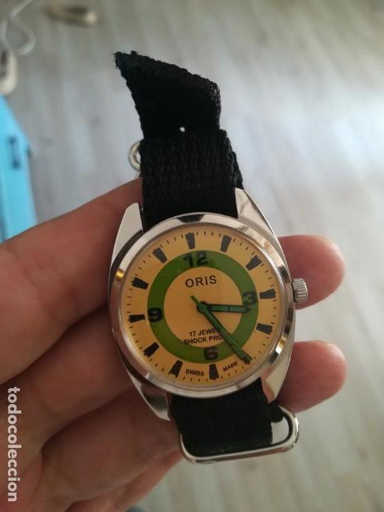 VINTAGE RELOJ ORIS DEPORTIVO SUIZO NUEVO CUERDA. (Relojes - Pulsera Carga Manual)