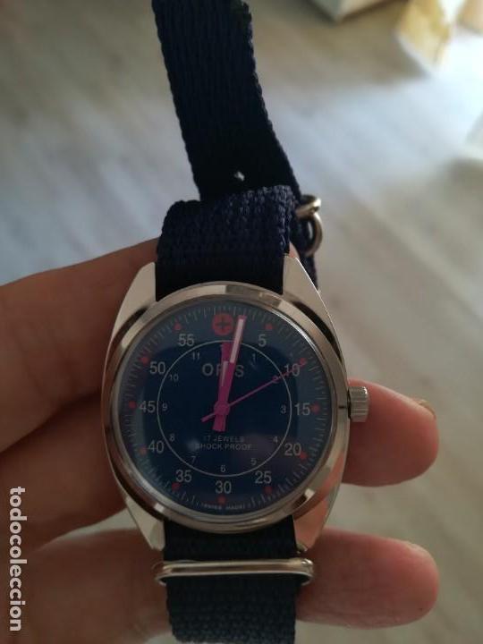 Relojes de pulsera: VINTAGE RELOJ ORIS DEPORTIVO SUIZO NUEVO CUERDA. - Foto 5 - 162358158