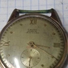 Relojes de pulsera: RELOJ CAUNY ANTIGUO. LEER BIEN. Lote 162406044