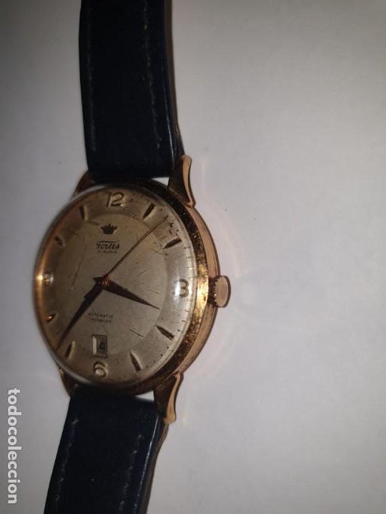 Relojes de pulsera: RELOJ FORTIS 21 RUBI CAJA ORO 18K - Foto 7 - 162467626