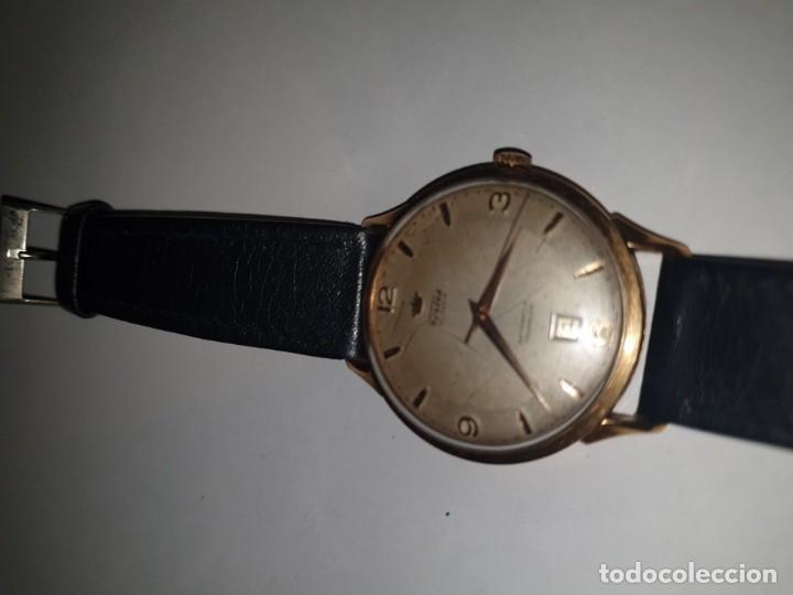 Relojes de pulsera: RELOJ FORTIS 21 RUBI CAJA ORO 18K - Foto 10 - 162467626
