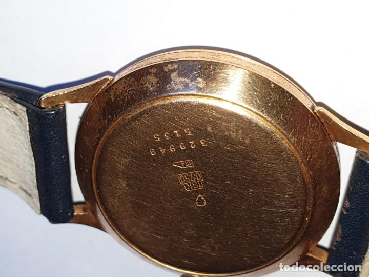 Relojes de pulsera: RELOJ FORTIS 21 RUBI CAJA ORO 18K - Foto 3 - 162467626