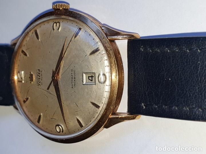 Relojes de pulsera: RELOJ FORTIS 21 RUBI CAJA ORO 18K - Foto 4 - 162467626
