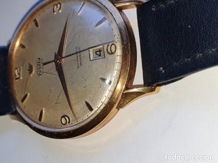Relojes de pulsera: RELOJ FORTIS 21 RUBI CAJA ORO 18K - Foto 5 - 162467626