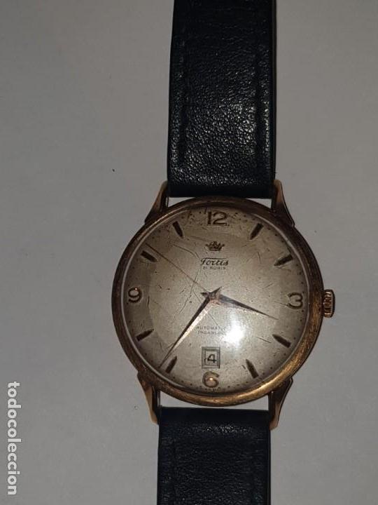 Relojes de pulsera: RELOJ FORTIS 21 RUBI CAJA ORO 18K - Foto 6 - 162467626