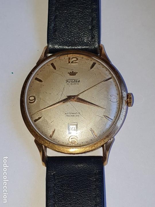RELOJ FORTIS 21 RUBI CAJA ORO 18K (Relojes - Pulsera Carga Manual)