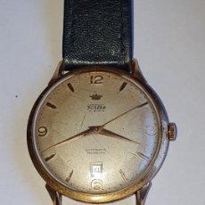 Relojes de pulsera: RELOJ FORTIS 21 RUBI CAJA ORO 18K. Lote 162467626