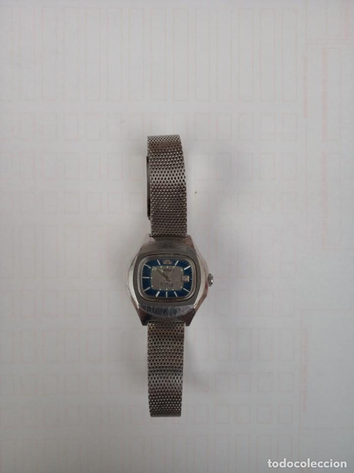 ANTIGUO RELOJ, ORIENT, DE ACERO AUTOMATIC 21 JEWELS (Relojes - Pulsera Carga Manual)