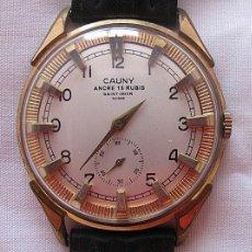 Relojes de pulsera: RELOJ DE CUERDA CAUNY PRIMA GRANDE. Lote 162628078