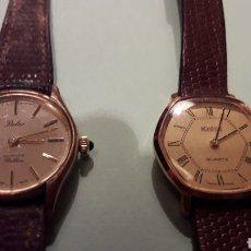 Relojes de pulsera: LOTE RELOJES MUJER, UNO MARCA ROAMER Y OTRO DULUX .. Lote 162643548