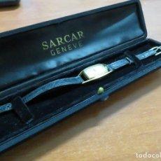 Relojes de pulsera: RELOJ DE PULSERA EN ORO DE 18 KT MARCA SARCAR (VACHERON & CONSTANTIN) EN CAJA ORIGINAL, FUNCIONANDO. Lote 162702026