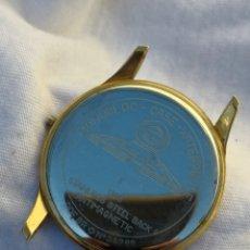 Relojes de pulsera: CAJA VINTAGE RELOJ PRONTO MONOBLOC. Lote 162652286