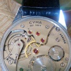 Relojes de pulsera: CYMA - MANUAL 1.950. ((( REF- 0586 K ))) FUNCIONANDO. 37.10 S/C. ESF.SERIGRAFIADA Y TEXT. DESCRIP.. Lote 163314670