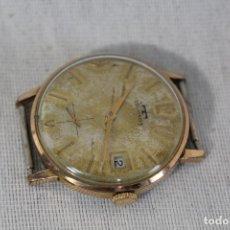 Relojes de pulsera: RELOJ MANUAL TECHNOS SWISS PLAQUE ORO. Lote 163633262