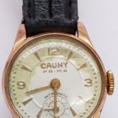 Relojes de pulsera: RELOJ CAUNY PRIMA CARGA MANUAL. Lote 163893146