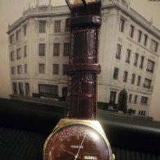 Relojes de pulsera: RELOJ DE CARGA MANUAL PAKETA. CALENDARIO PERPETUO. CUEDA DE 30H. Lote 164031886