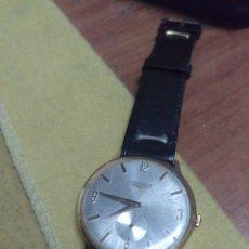 Relojes de pulsera: RELOJ DE PULSERA A CUERDA LONGINES DE ORO. Lote 164192672