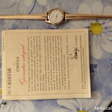 Relojes de pulsera: RELOJ OMEGA MUJER ORO 18 KT. Lote 164790430