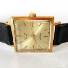 Relojes de pulsera: RELOJ DE PULSERA PARA HOMBRE VINTAGE RUSO POLJOT DE LUXE, MARCAR CUADRADA RARA. Lote 164941398