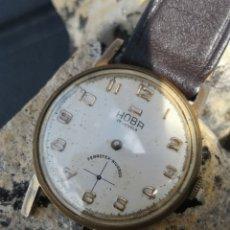 Relojes de pulsera: RELOJ VINTAGE HOBA CARGA MANUAL 60S. Lote 165123702