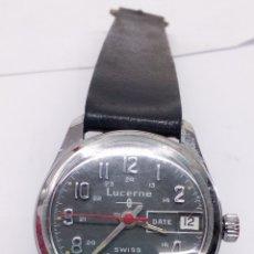 Relojes de pulsera: RELOJ LUCERNE CARGA MANUAL. Lote 165225917