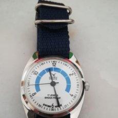 Relojes de pulsera: VINTAGE RELOJ CAMY DEPORTIVO SUIZO DE LOS 70. .. Lote 165324274