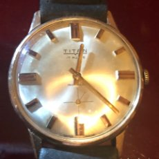 Relojes de pulsera: RELOJ DE CARGA MANUAL TITAN. Lote 165380849