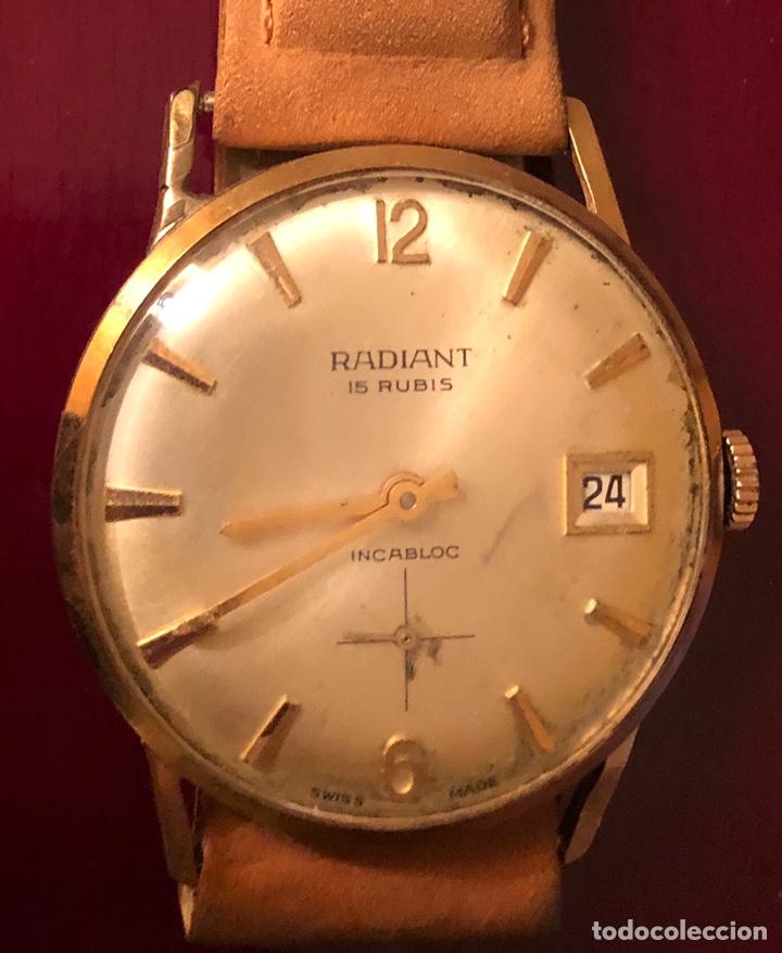 RELOJ DE PULSERA, DE CARGA MANUAL RADIANT (Relojes - Pulsera Carga Manual)