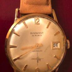 Relojes de pulsera: RELOJ DE PULSERA, DE CARGA MANUAL RADIANT. Lote 165407626