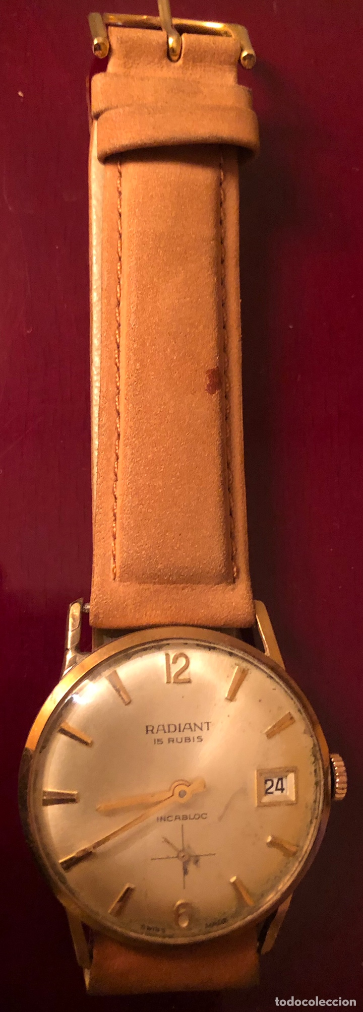Relojes de pulsera: Reloj de pulsera, de carga manual Radiant - Foto 3 - 165407626