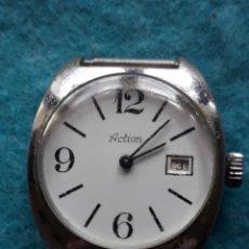 Relojes de pulsera: RELOJ MARCA ACTIÓN. CUERDA MANUAL. FUNCIONANDO.. Lote 165471226