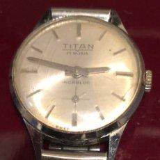 Relojes de pulsera: RELOJ DE MUJER DE CARGA MANUAL TITAN. Lote 165486466