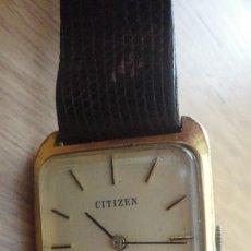 Relojes de pulsera: ANTIGUO RELOJ DE PULSERA MARCA CITIZEN WATCH CO.JAPAN. Lote 165680098