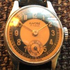 Relojes de pulsera: RELOJ DE MUJER DE CARGA MANUAL, ANCRE. Lote 165769004