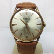 Relojes de pulsera: RELOJ ROYCE CARGA MANUAL 15 JEWELS - CAJA 3'40 CM - FUNCIONANDO. Lote 165872926