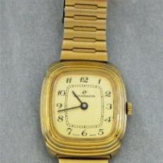 Relojes de pulsera: RELOJ DE CUERDA SINDACO, SUIZO, 32 X 38 MM SCC, FUNCIONA, A VECES SE PARA, BAÑO DE ORO,. Lote 171352622