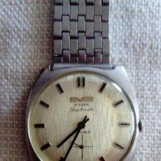 Relojes de pulsera: RELOJ DUWARD DE PLATA . Lote 166359282