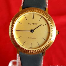 Relojes de pulsera: RELOJ ROYMAT VINTAGE, SWISS MADE, NOS (NEW OLD STOCK). Lote 115697131