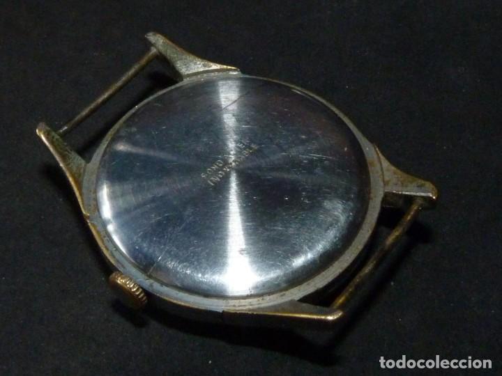 Relojes de pulsera: Bonito reloj CAUNY PRIMA tipo militar swiss made calibre AS168 precioso 15 rubis años 40 - Foto 4 - 166712138