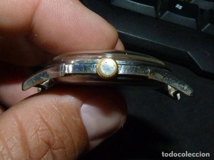 Relojes de pulsera: Bonito reloj CAUNY PRIMA tipo militar swiss made calibre AS168 precioso 15 rubis años 40 - Foto 6 - 166712138