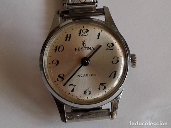 RELOJ FESTINA INCABLOC NECESITA REPARAR (Relojes - Pulsera Carga Manual)