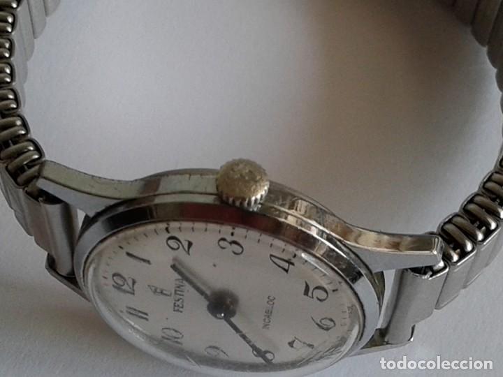 Relojes de pulsera: RELOJ FESTINA INCABLOC necesita reparar - Foto 4 - 166792210