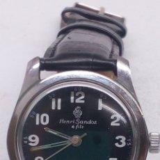 Relojes de pulsera: RELOJ HENRI SANDOZ & FILS CARGA MANUAL. Lote 167008630